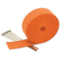 Milwaukee Twins 2″ x 65′ Orange Exhaust Wrap