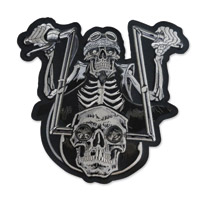 Lethal Threat Spider Biker Embroidered Patch