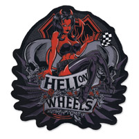 Lethal Threat Hell on Wheels Embroidered Patch