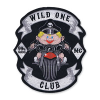 Lethal Threat Wild One Baby Boy Embroidered Patch