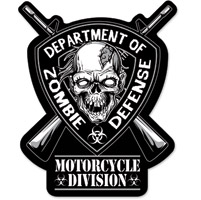 Lethal Threat Zombie Division Embroidered Patch