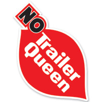 Lethal Threat Rude & Crude No Trailer Queen Mini Decal