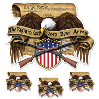 Lethal Threat Right to Bear Arms Decal