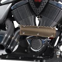 Design Engineering Inc. Flexible Titanium Heat Shield