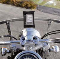 Leader eCaddy Ultra Black Waterproof Cell Phone /iPod/MP3 Windshield Mount