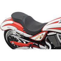 Drag Specialties Low-Profile Smooth Touring Seat