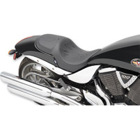 Drag Specialties Predator 1-Up Tribal Flame Seat