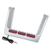 Show Chrome Accessories LED License Filler Trim