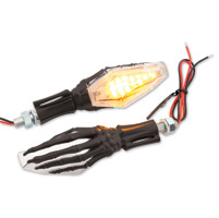 Milwaukee Twins Hand Bone LED Turn Signals