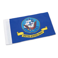 Rumbling Pride Reversable Navy/POW MIA Flag