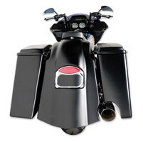 Arlen Ness Bagger-Tail Rear Fender with Single Cut-Out