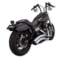 Vance & Hines Super Radius Exhaust Chrome