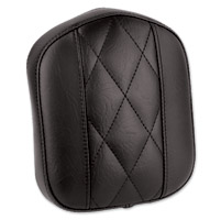 Mustang Diamond Stitch Bracket Style Black Sissy Bar Pad