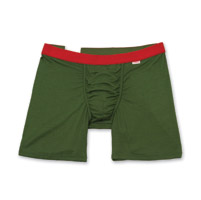 My Pakage Weekday Forest Green w/Red Men's Underwear