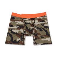 My Pakage Weekday Camo w/Orange Men's Underwear