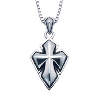 Wildthings Stainless Steel Necklace 3D Cross with 20″ Chain