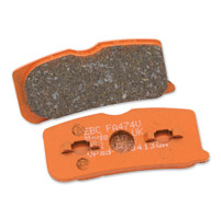 EBC Front Semi-Sintered Brake Pads