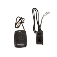 Grip Switch Chrome Push Button Garage Door with Additional On/Off/On Momentary Rocker Switch
