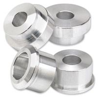 Lowbrow Customs Raw Solid Riser Bushing Kit