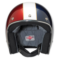 Biltwell Inc. Bonanza LE Racer Red/White/Blue Open Face Helmet