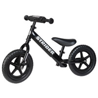 Strider Sports International Inc. 12 Sport No-Pedal Black Bike