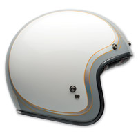 Bell Custom 500 Headcase Cueball Open Face Helmet