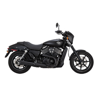Vance & Hines Black Competition Series Slip-Ons