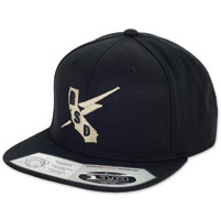Roland Sands Design Builders Union Black Cap
