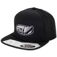 Roland Sands Design Cafe Wing Black Cap