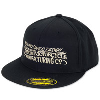 Roland Sands Design Custom MC Black Cap