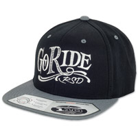Roland Sands Design Go Ride Black/Gray Cap