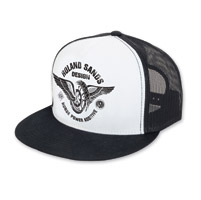 Roland Sands Design Horsepower White/Black Trucker Cap