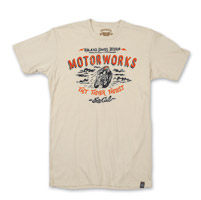 Roland Sands Design Motorworks Natural T-shirt