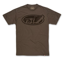 Roland Sands Design Cafe Wing Army w/Black Ink T-shirt