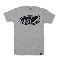 Roland Sands Design Cafe Wing Gray w/Black Ink T-shirt