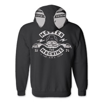 Roland Sands Design Master Machine Black Full Zip Hoodie