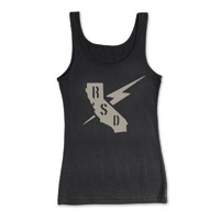 Roland Sands Design Builders Union Ladies Black Tank