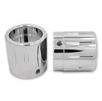 Avon Grips Chrome Rival Axle Nut Covers