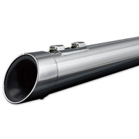 Crusher Mellow Chrome Slash Tip Mufflers