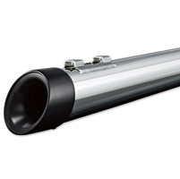 Crusher Mellow Black Slash Tip Mufflers
