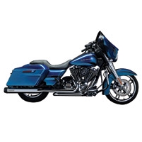 Crusher Maverick Chrome Touring Slip-Ons