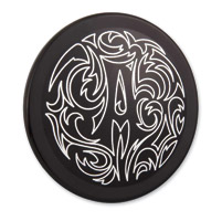 Arlen Ness Engraved Black Cam Cover