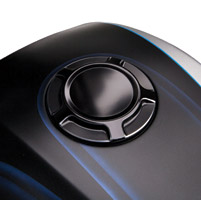Arlen Ness Beveled Black Gas Cap