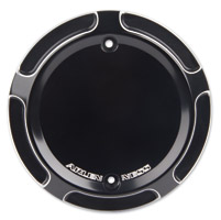 Arlen Ness Beveled Black Derby Cover