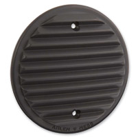 Arlen Ness Retro Black Derby Cover