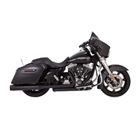 Vance & Hines Titan OverSized 450 Slip Ons Black with Black End Caps