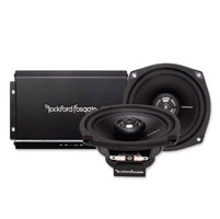 Rockford Fosgate Prime 140 Watt 2-Channel Amp and Speaker Kit