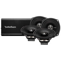 Rockford Fosgate Prime 160 Watt 4-Channel Amp and Speaker Kit