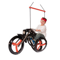 M&M Sales Chopper Ride'N Motorcycle Tire Swing