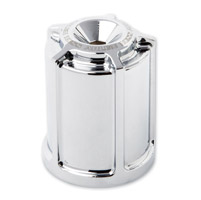 Arlen Ness Chrome Beveled Oil Filter Housing